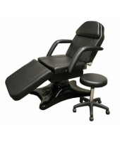 Hydraulic Tattoo Chair With FREE BLK STOOL (table, bed)